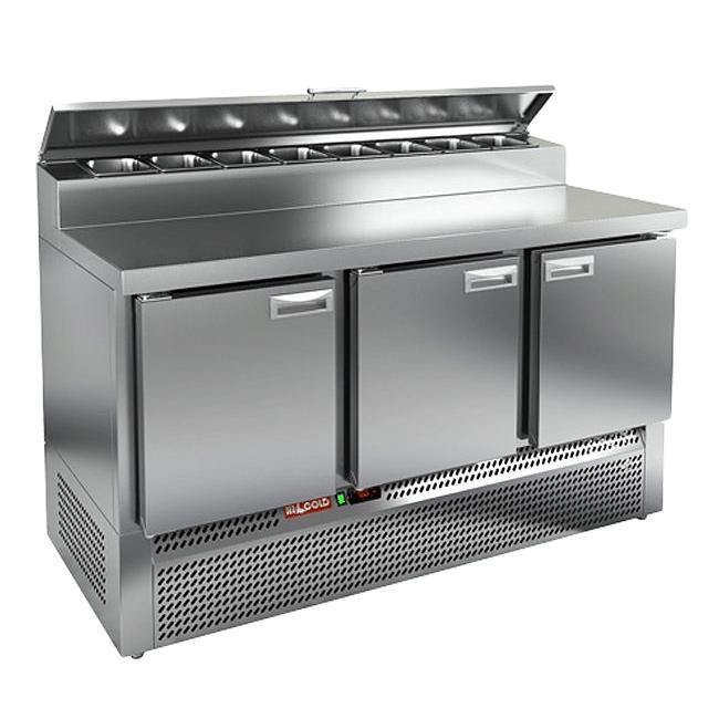 Купить стол охлаждаемый для пиццы Hicold PZE2-111/GN (1/6) – в интернет-магазине Kobor в Москве